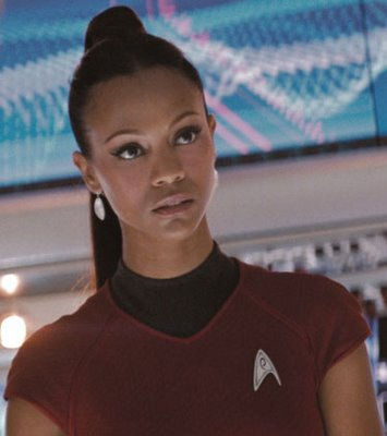 Uhura? I hardly know ya! ... I'll see myself out.