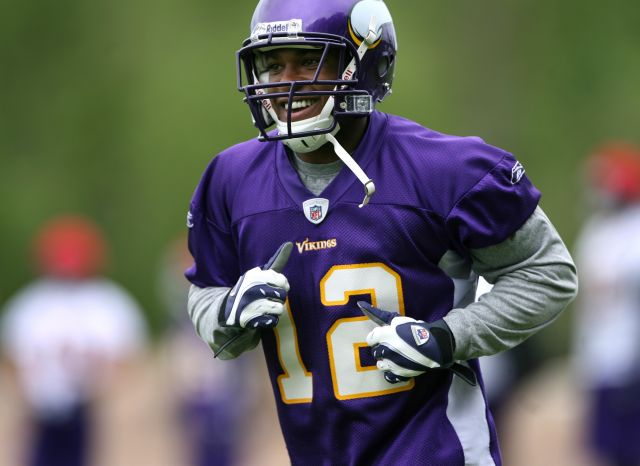 Prepare thee well, NFL ... Percy Harvin cometh.