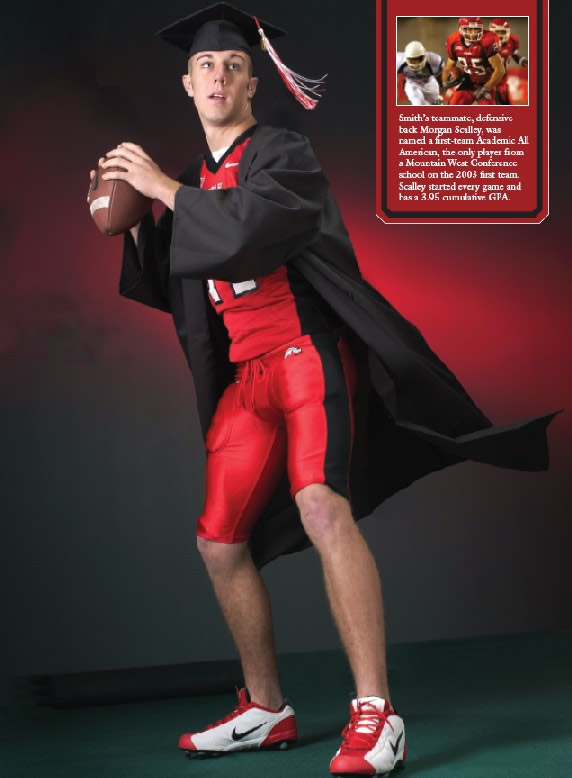 Alex Smith graduates from Dork University