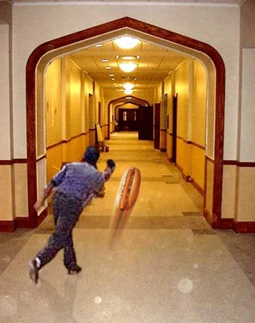 Hot Dog Hallway Meaning