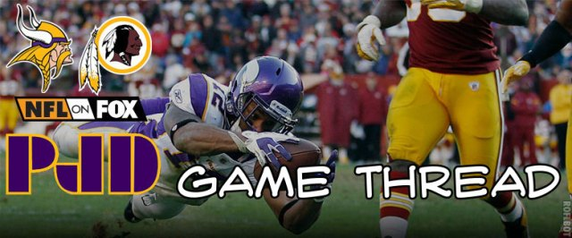 Vikings Redskins Banner